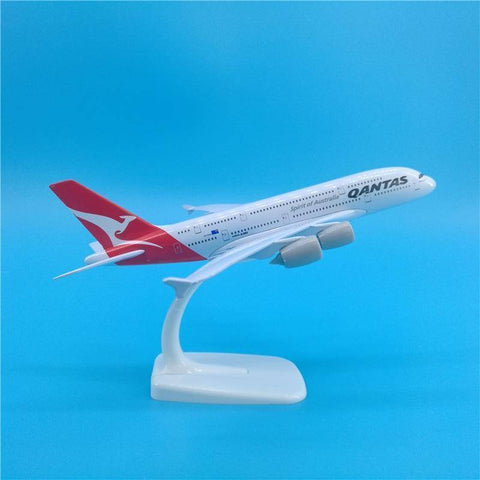 Image of Qantas A380 Metal Die Cast Model - Bee Bee Shopping USA