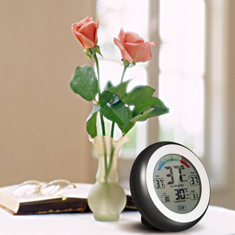 Image of Digital Thermometer Hygrometer Temperature Humidity Meter - Bee Bee Shopping USA