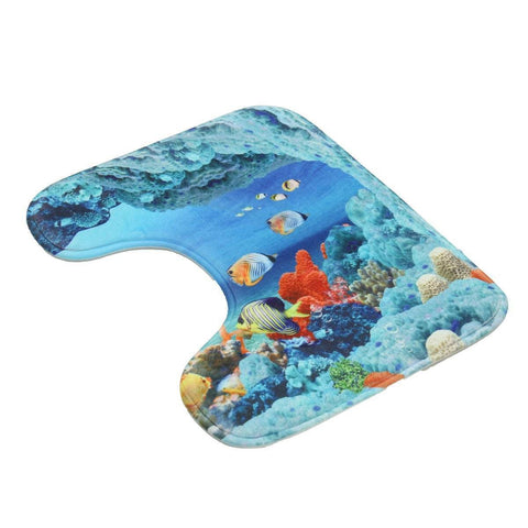 Image of Dolphin Bathroom Mat Sets - Bee Bee Shopping USA