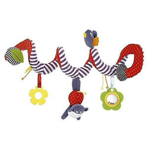 Baby Pram Crib and Cot Hanging Rattles Toy - Bee Bee Shopping USA
