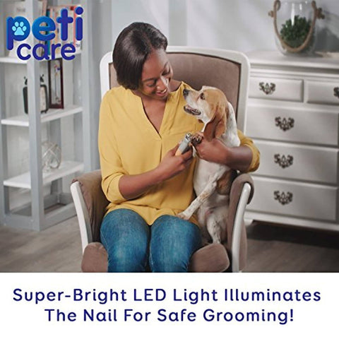 Image of PetiCare LED Light Pet Nail Clipper - Bee Bee Shopping USA