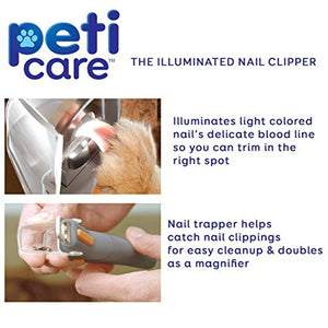 PetiCare LED Light Pet Nail Clipper - Bee Bee Shopping USA