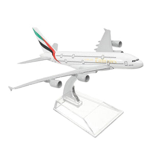 Emirates A380-800 Metal Diecast Desktop Plane Model - Bee Bee Shopping USA