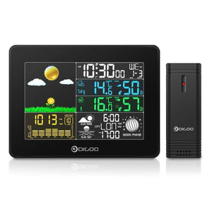 Weather Station Digital Wireless Full-Color Screen - Bee Bee Shopping USA