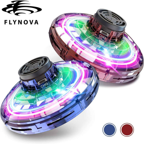 Image of Flynova Flying Spinning UFO Drone Toy - Bee Bee Shopping USA