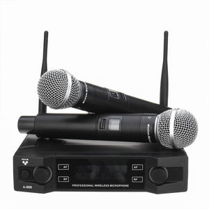 Wireless Handheld Mic Microphone System for Karaoke Party - Bee Bee Shopping USA