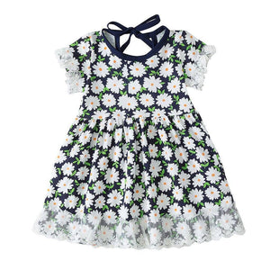 Daisy Floral Summer Dress - Bee Bee Shopping USA