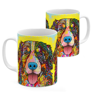 Dean Russo Bernese Mountain Dog Cool Gift - Coffee Mug