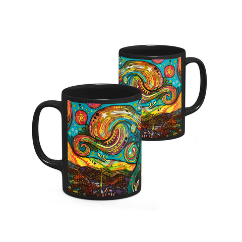 Image of Dean Russo Starry Night Cool Gift - Coffee Mug