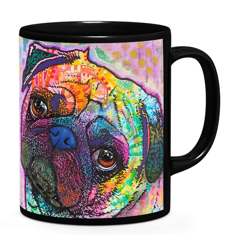 Image of Dean Russo Pug Love Cool Gift - Coffee Mug