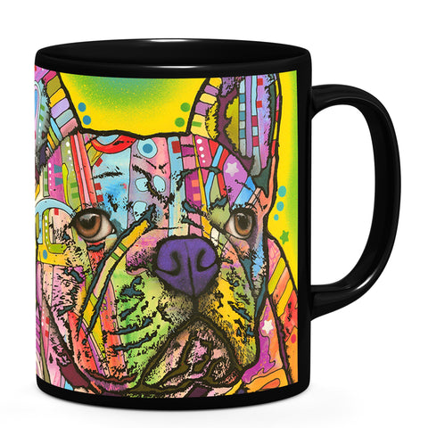 Image of Dean Russo French Bulldog III Cool Gift - Coffee Mug