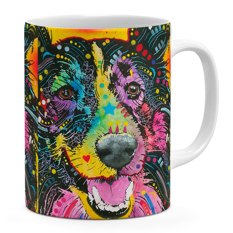 Image of Dean Russo Smiling Collie Cool Gift