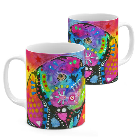Image of Dean Russo Psychedelic Lab Cool Gift - Coffee Mug