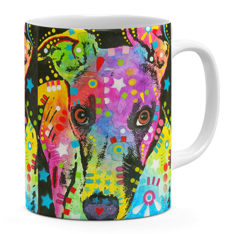 Image of Dean Russo Curious Greyhound Cool Gift