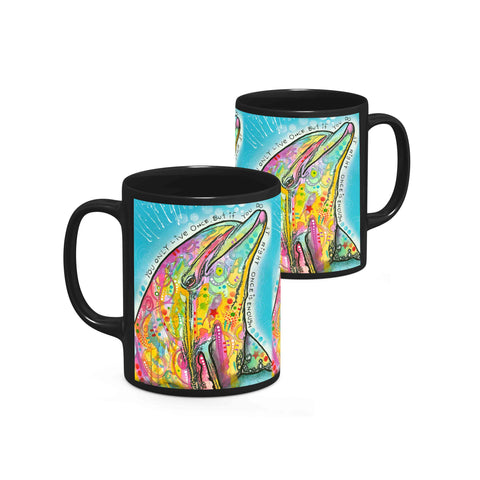 Image of Dean Russo Dolphin Cool Gift - Coffee Mug