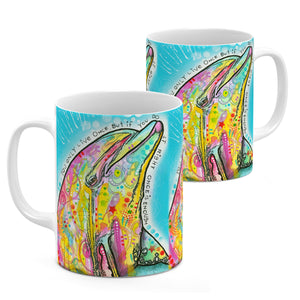 Dean Russo Dolphin Cool Gift - Coffee Mug
