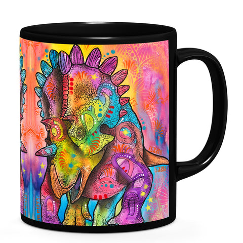 Image of Dean Russo Triceratops Cool Gift - Coffee Mug