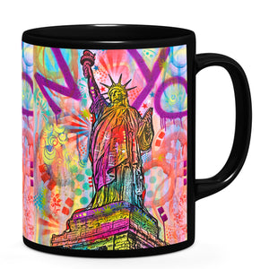 Dean Russo Liberty Cool Gift - Coffee Mug