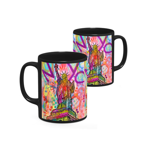 Image of Dean Russo Liberty Cool Gift - Coffee Mug