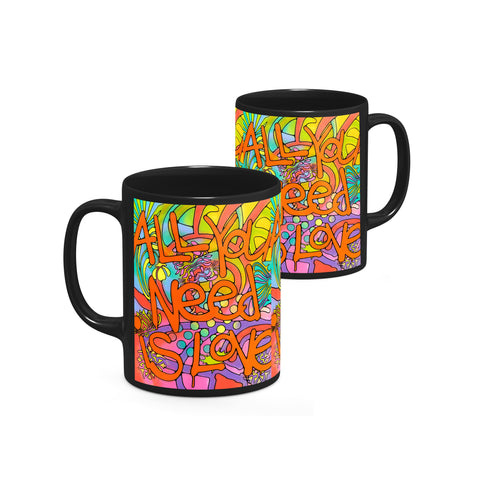 Image of Dean Russo All you need is love Cool Gift - Coffee Mug