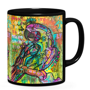 Dean Russo Want to Fly Cool Gift - Coffee Mug