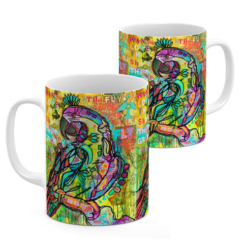 Image of Dean Russo Want to Fly Cool Gift - Coffee Mug
