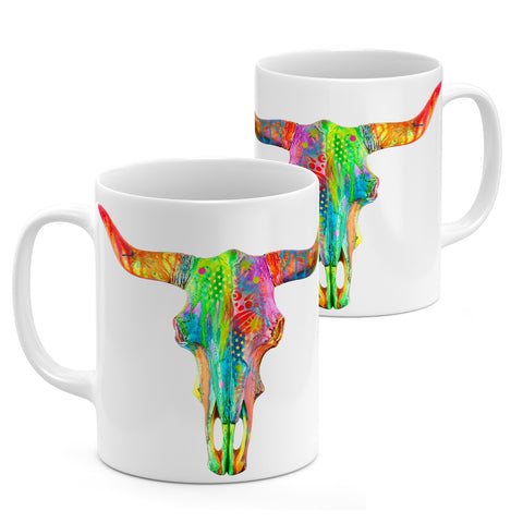 Image of Dean Russo Longhorn Cool Gift - Coffee Mug