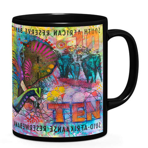 Image of Dean Russo Elephants Cool Gift - Coffee Mug