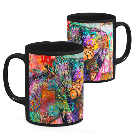 Image of Dean Russo Iguana Cool Gift - Coffee Mug