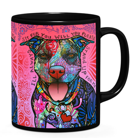 Image of Dean Russo Stand Up Cool Gift - Coffee Mug