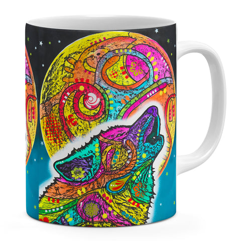 Image of Dean Russo Howling Wolf Cool Gift