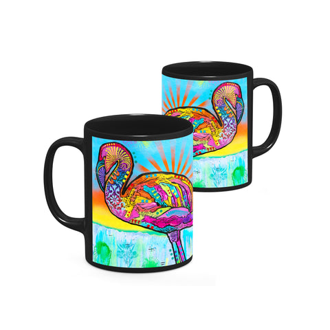 Image of Dean Russo Pink Flamingo Cool Gift - Coffee Mug
