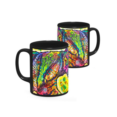 Image of Dean Russo Psychedelic Tiger Cool Gift - Coffee Mug
