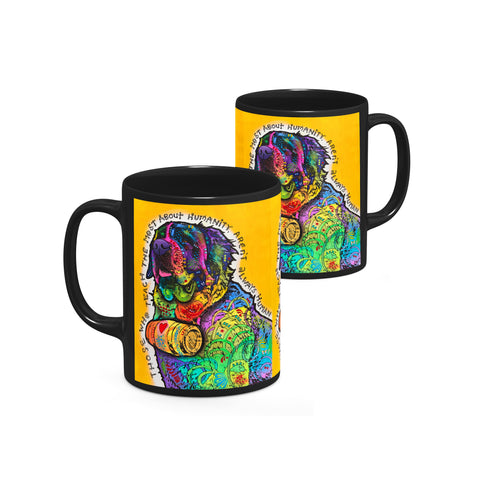 Image of Dean Russo Humanity Cool Gift - Coffee Mug