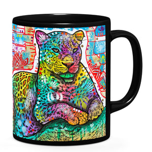Dean Russo Electric Leopard Cool Gift - Coffee Mug