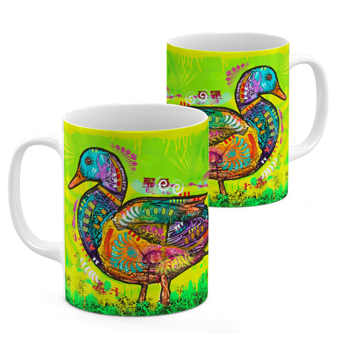 Image of Dean Russo Electric Duck Cool Gift - Coffee Mug