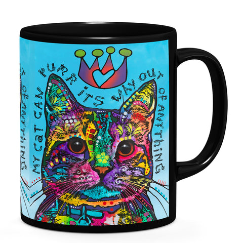 Image of Dean Russo My Cat Cool Gift - Coffee Mug