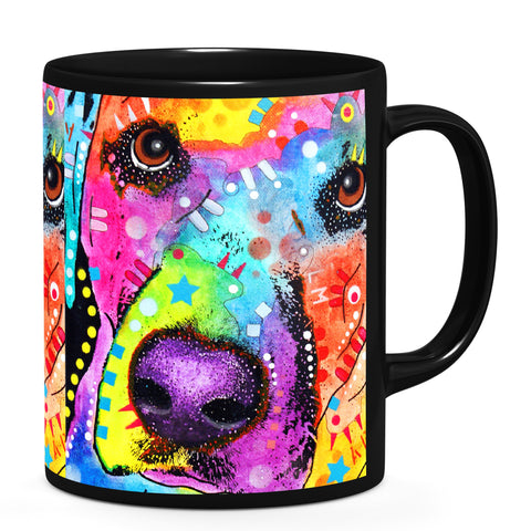 Image of Dean Russo Closeup Labrador Cool Gift - Coffee Mug