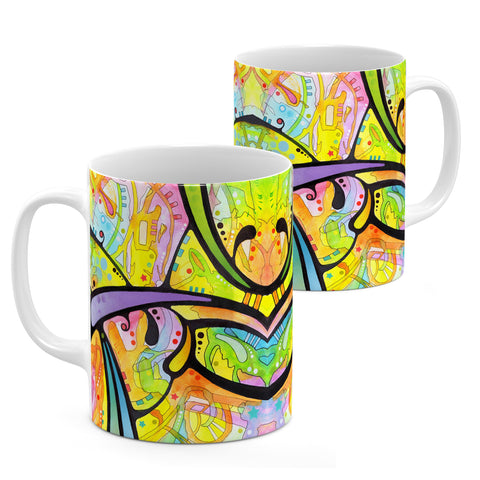 Image of Dean Russo Abstract Cool Gift - Coffee Mug