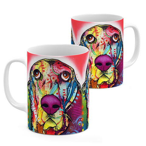 Image of Dean Russo Basset Cool Gift - Coffee Mug