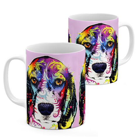 Dean Russo 4 Beagle Cool Gift - Coffee Mug