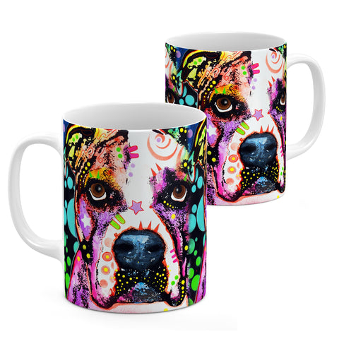 Image of Dean Russo American Bulldog Cool Gift - Coffee Mug