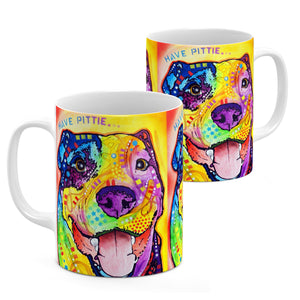 Dean Russo Have Pittie Cool Gift - Coffee Mug