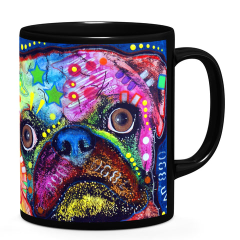 Image of Dean Russo Pug 92309 Cool Gift - Coffee Mug