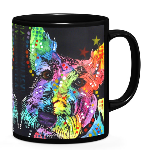 Image of Dean Russo Scottish Terrier Cool Gift - Coffee Mug