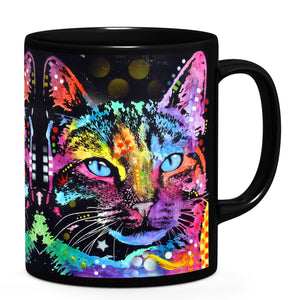 Dean Russo Thoughtful Cat Cool Gift - Coffee Mug