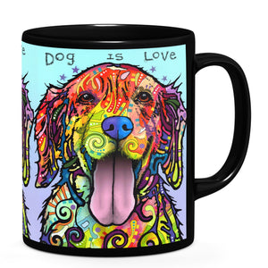 Dean Russo Dog Is Love Cool Gift - Coffee Mug