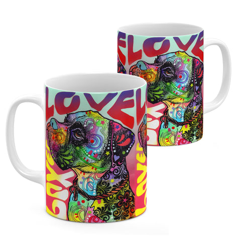 Image of Dean Russo Boxer Luv Cool Gift - Coffee Mug