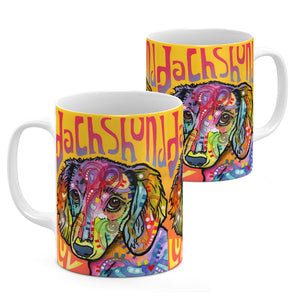 Dean Russo Dachshund Love Cool Gift - Coffee Mug