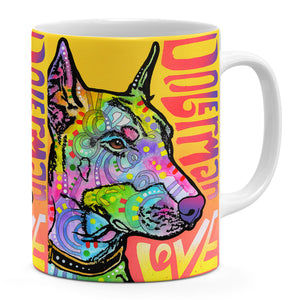 Dean Russo Doberman Luv Cool Gift